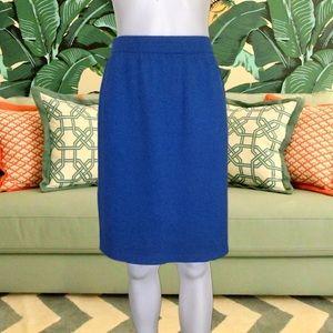 Dresses & Skirts - St. John Marie Gray Blue Knit Skirt